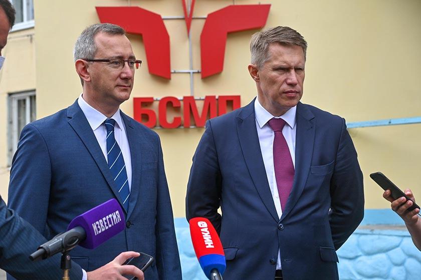 Федеральный министр восхитился калужской медициной