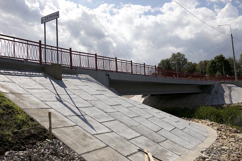 В Мещовском районе открыли отремонтированный мост