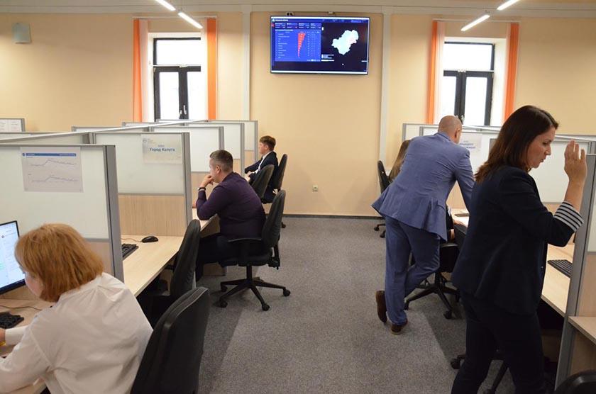В Калуге начал работать центр управления регионом