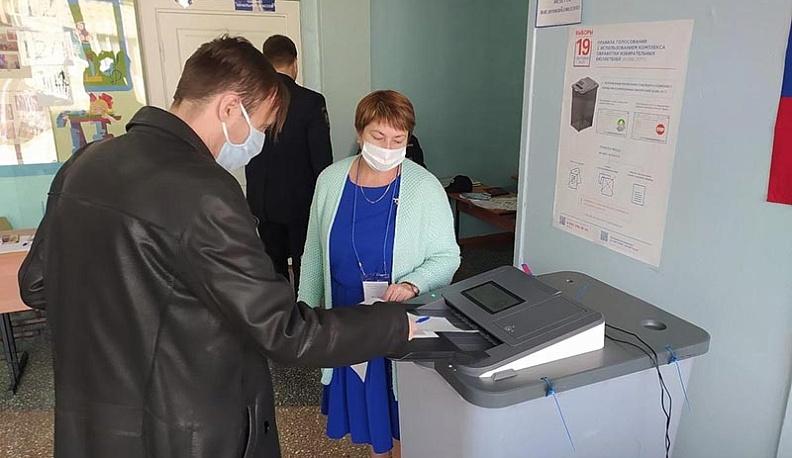 На участках в Калужской области избирателям обеспечили максимальную безопасность